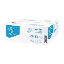 Ručník skládaný SUPERMINI Blue premium V, 2vr., 3150 ks, bílý