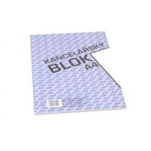 Blok kancelářský lepený BOBO A4 čistý