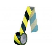 CS, Páska samolepicí černo-žlutá NORMOVÁ, 60 mm