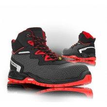 VM Footwear, Obuv kotníková bezpečnostní, SACRAMENTO S3 ESD, černá, vel. 36 - 47