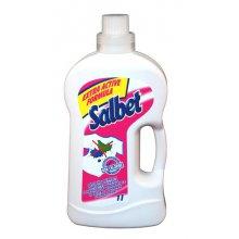 Odstraňovač skvrn, SALBET, na prádlo, tekutý, 1 L