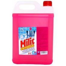 Prostředek čistící, MILIT UNIVERZÁL, koncentrát, růžový, 5 L