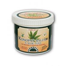 Herbavera, balzám konopný s Aloe Vera 500 ml